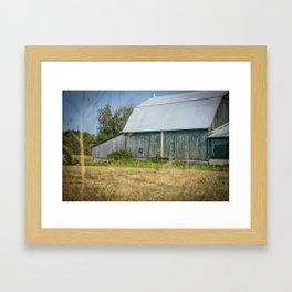 Old Barn Framed Art Print