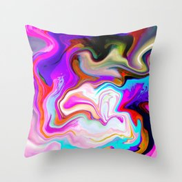 The In Crowd Throw Pillow