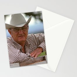 LBJ At His Texas Ranch - 1972 Stationery Cards