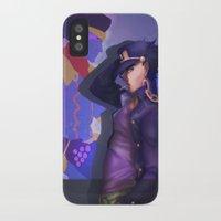 jjba iPhone & iPod Cases featuring JoJo's Bizarre Adventure by Kurisu