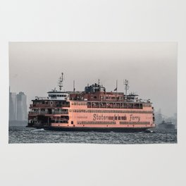 """The Boat"" , Staten Island Ferry Rug"
