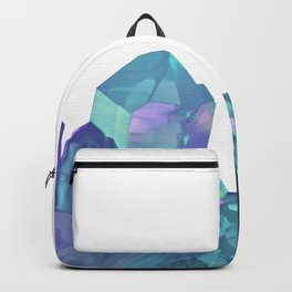 Blue-green Crystals Backpack