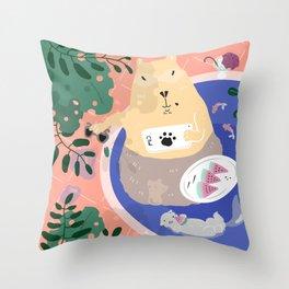 Have a Break! Throw Pillow