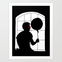 daredevil Art Prints featuring Daredevil by Boring Palace