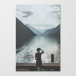 Seton Lake II Canvas Print