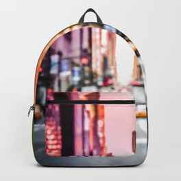 Big Apple Dream in the New York City Downtown Manhattan Backpack