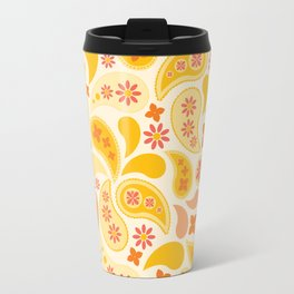Pocket Full of Paisley Pattern Graphic Travel Mug