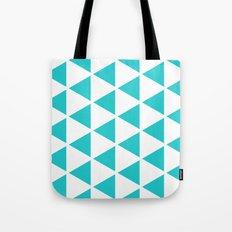 Sleyer Blue on White Pattern Tote Bag