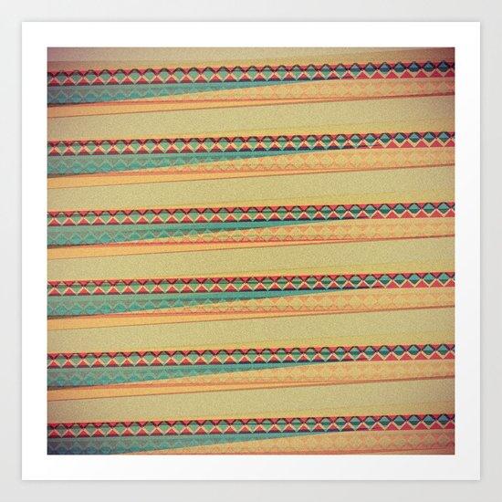 Frequencies Art Print