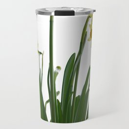 Narcissus flower Travel Mug