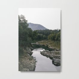 Murky Water Metal Print