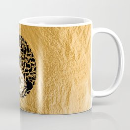 Yin-Yang Cats - Gold Coffee Mug