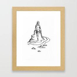 Bather Framed Art Print