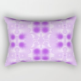 Pretty Peaceful Purple Pattern Rectangular Pillow