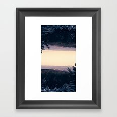 Adirondacks Framed Art Print