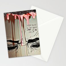 My Music Is Where I'd Like you Touch Stationery Cards