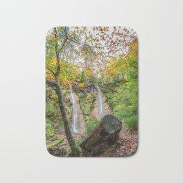 Autumn Waterfall Bath Mat