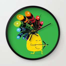 Tropical Adventure Wall Clock