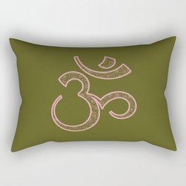 Om Syllable Rectangular Pillow