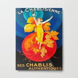 La Chablisienne Vintage Metal Print