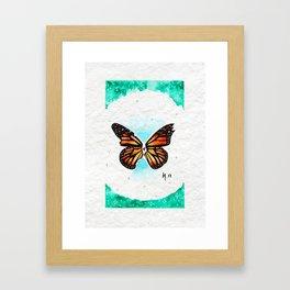 No longer here Framed Art Print