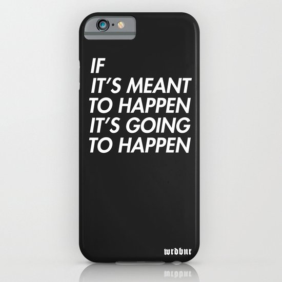 Mean to happen /2/ iPhone & iPod Case