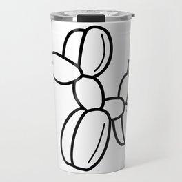 Outline pattern of modern art Travel Mug