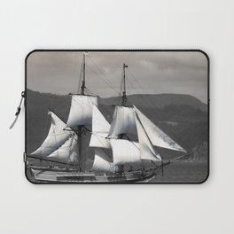 The Ocean in the Sky, sailboat, pirates Laptop Sleeve