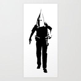 KKKop (black edition) Art Print
