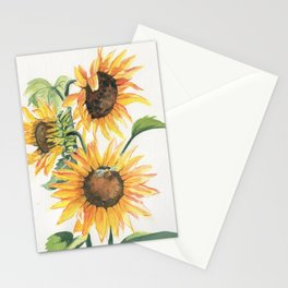 Sunny Sunflowers Stationery Cards