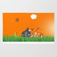 What's going on in the jungle? Kids collection Rug