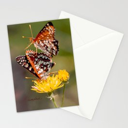 Butterfly Acrobats Stationery Cards
