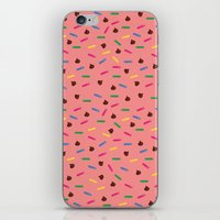 dessert iPhone & iPod Skins featuring Dessert by olive yuvencia