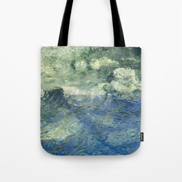 Clean Clear Clarity Tote Bag