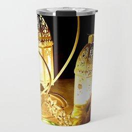 Candlelight dinner Travel Mug