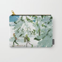 Cross Country Skiing Carry-All Pouch
