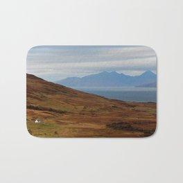 Scotland Argyll mountain landscape Bath Mat