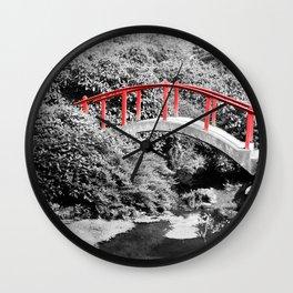 Red Bridge Wall Clock