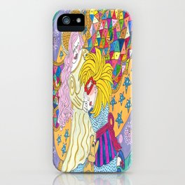 My Angel Comforts Me In My Dreams iPhone Case