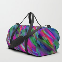 Colorful digital art splashing G400 Duffle Bag
