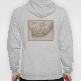 Vintage Map of South Africa (1832) Hoody