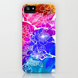 Flowers I iPhone Case