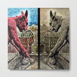 The Night Watch, A Paris Mythos by Jeanpaul Ferro Metal Print