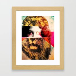 Lady Lion Framed Art Print