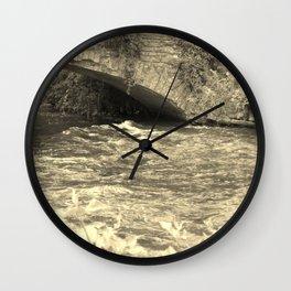 Antique Bridge Wall Clock