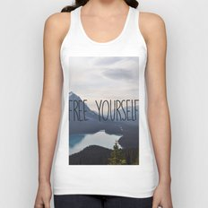 Free Yourself Unisex Tank Top