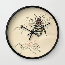 Cabinet of Curiosities No.6 Wall Clock