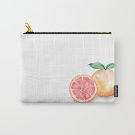 Watercolour Grapefruit Carry-All Pouch