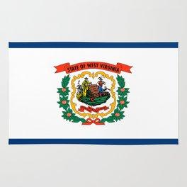 West Virginia Flag Rug