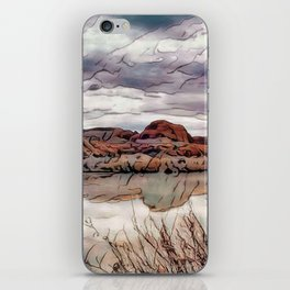 Peace on the River iPhone Skin